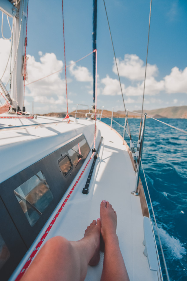 Sailing the BVI: What It's Like To Live On A Boat for 7 Days