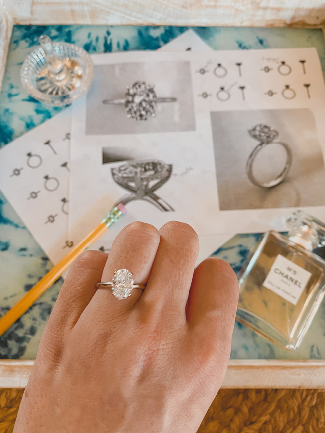 BEHIND THE SCENES: Designing My Engagement Ring