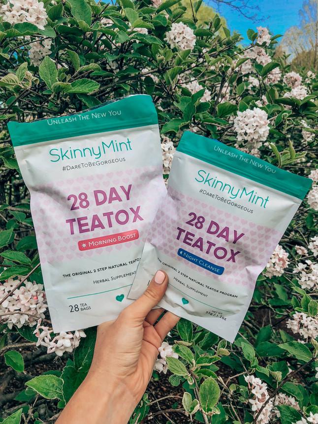 Ready to Detox: SkinnyMint Ultimate Teatox