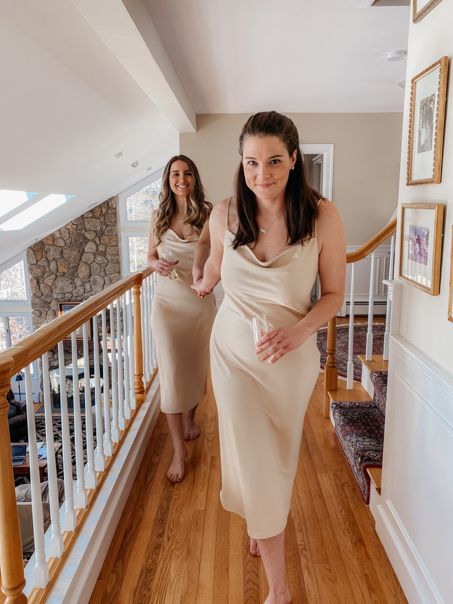 Finding The Perfect Bridesmaid Dress My Girlfriends LOVE x Birdy Grey