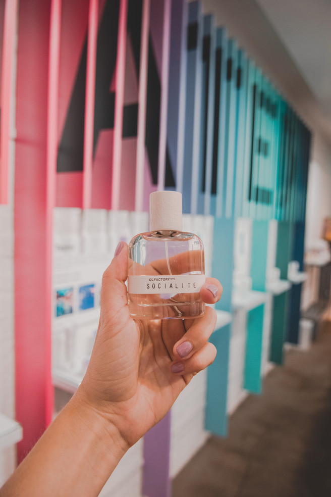 NYC Store Experience: Creating My Scent with OLFACTORY