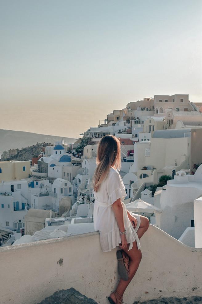 Greek Island Travel Adventure: Santorini