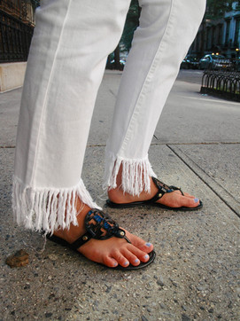 Latest obsession: Fringe Jeans