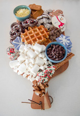 The Perfect Holiday Dessert: Hot Cocoa Charcuterie Board