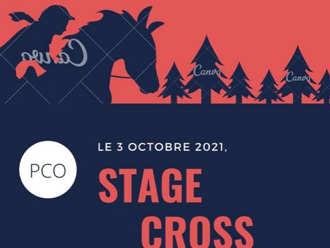 Stage de Cross le 3 octobre 2021