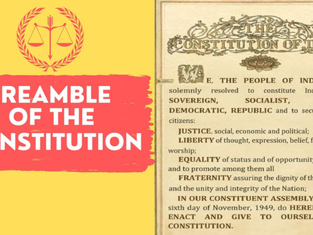 Why Is The Preamble Of The Indian Constitution Called The Soul Of The Indian Constitution ?