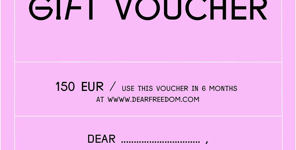 GIFT VOUCHER 150 EUR