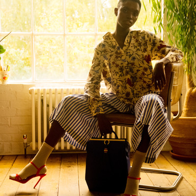 House of Solo_Striped culottes by Dear Freedom