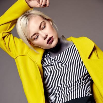 Whytt magazine_Yellow wool coat Dear Freedom