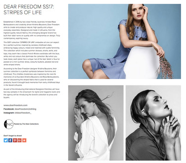 Dear Freedom in press The New Collections