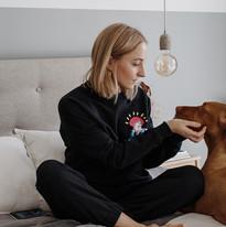 'Women' džemperis su Migloko iliustracija