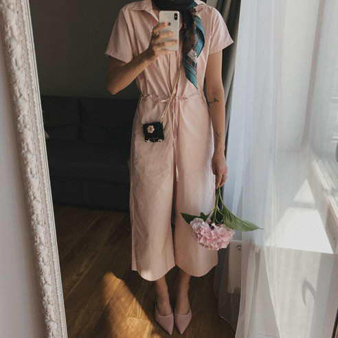 Pink jumpsuit Dear Freedom