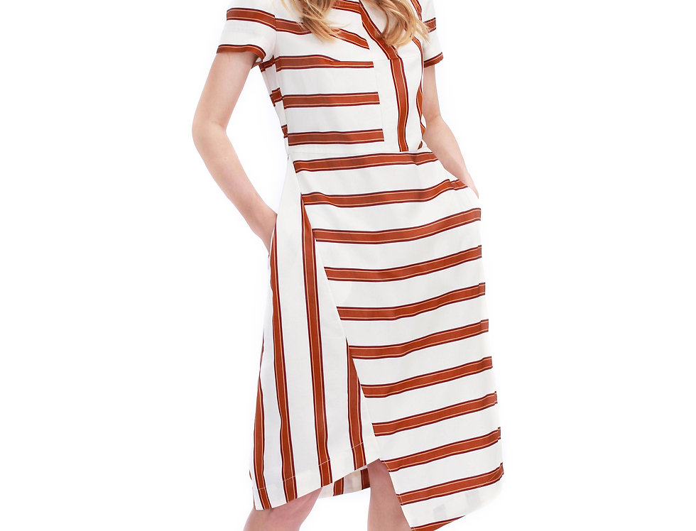 BROWN NEW YORK DRESS DEAR FREEDOM