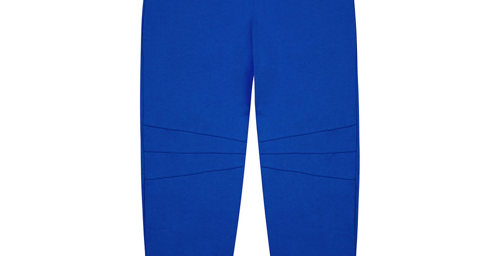 Blue Organic Cotton Track Pants