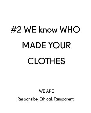 Dear Freedom sustainable fashion brand