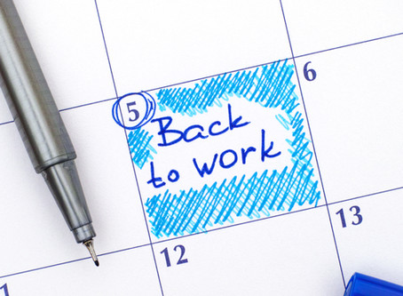 COVID-19: Back to Work Considerations & the New Norm