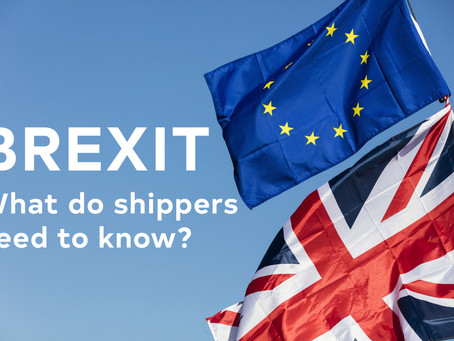 Brexit: What Do Shippers Need To Know?