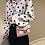 Thumbnail: Betty Shoulder Bag - Clear/Rose