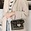 Thumbnail: Betty Shoulder Bag - Clear/Black