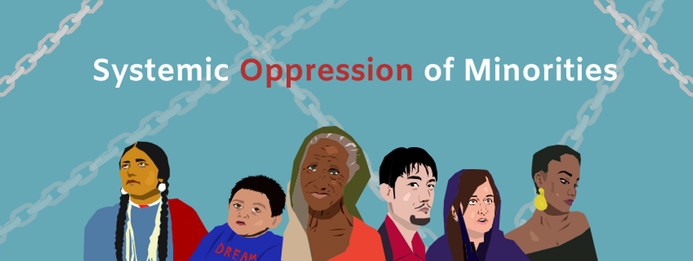 Systemic Oppression of Minorities