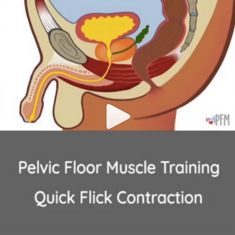 Male Quick Flick Contraction
