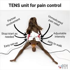TENS unit for pain control