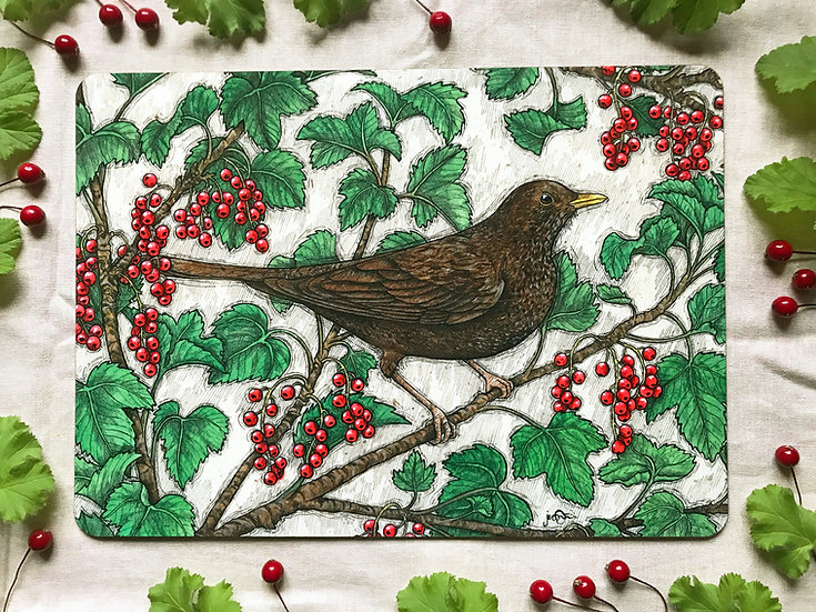 The Redcurrant Thief Placemat