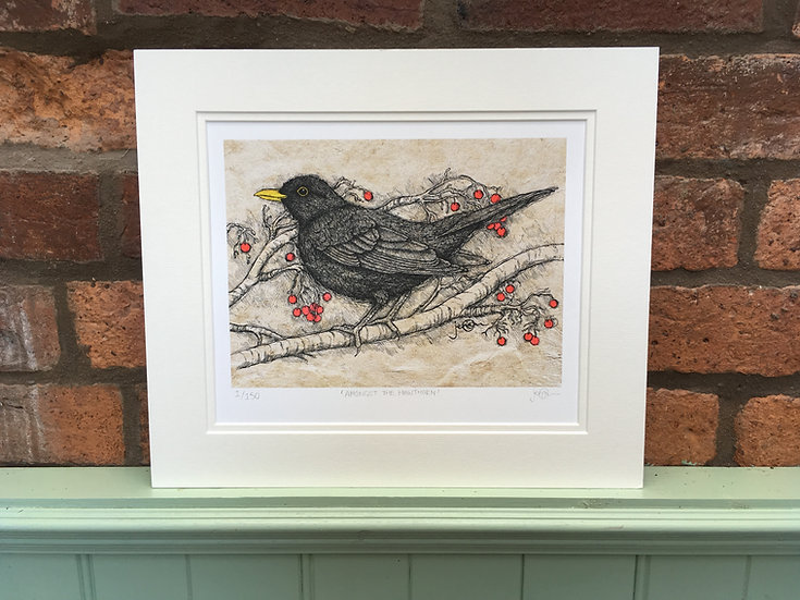 Amongst the Hawthorn Limited Edition Print