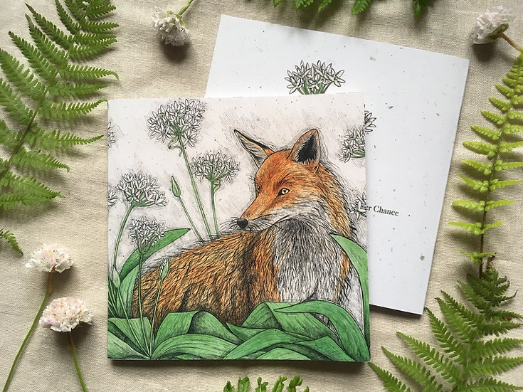 Fox and Ramsons Notebook