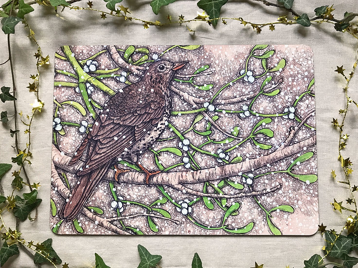 Mistle Thrush Placemat