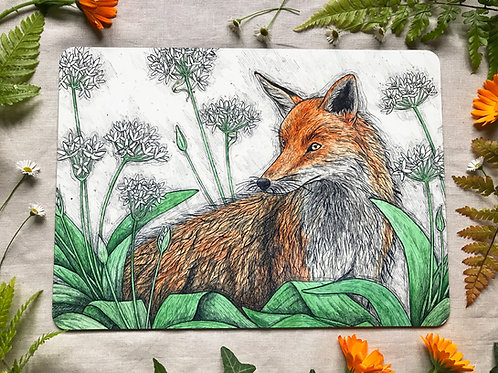 Fox and Ramsons Placemat
