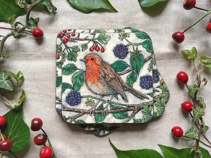 Autumn Robin Coaster