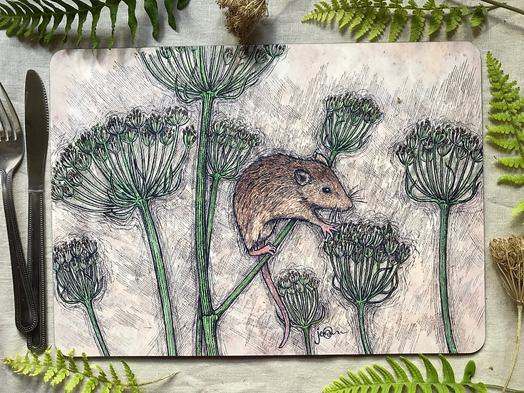 Harvest Mouse Placemat