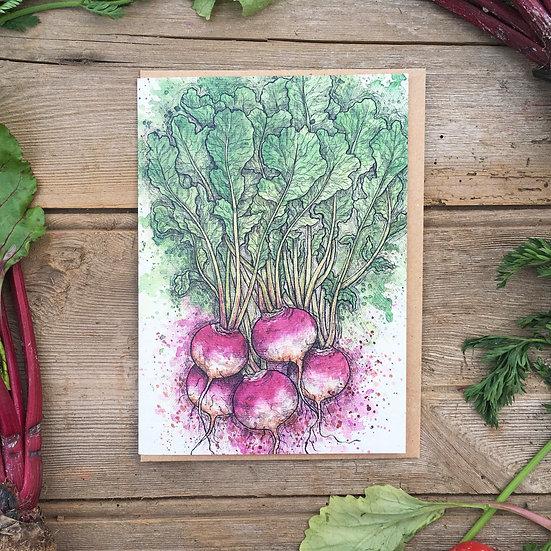 Turnip Card