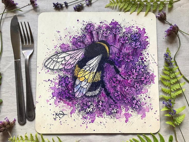Bumblebee on Verbena Placemat