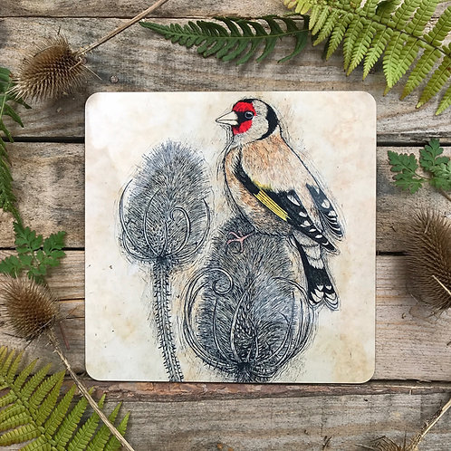 Goldfinch and Teasels Placemat