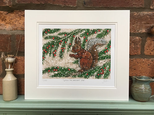 Within the Ancient Yew Limited Edition Print