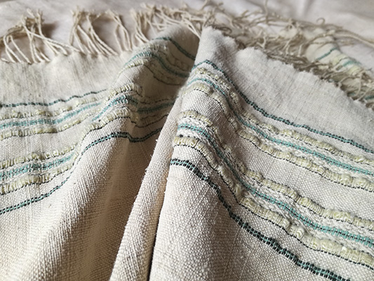 lotus scarf prototype