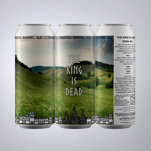 Twisted Barrel - The King is Dead IPA