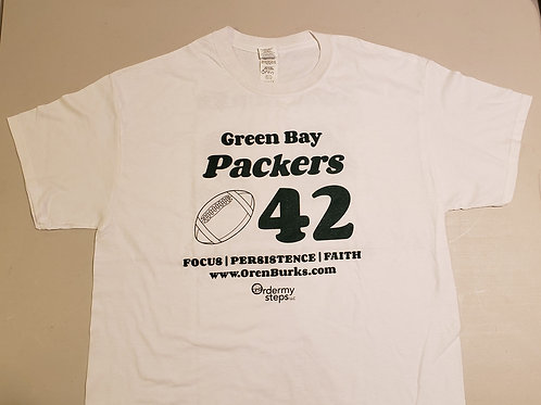 Team Burks 42 Packers YOUTH Short Sleeve T-shirt