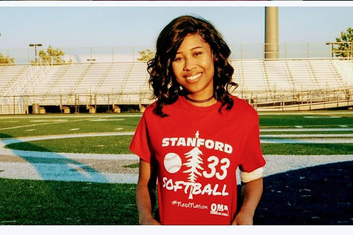 Team Burks 33 Stanford Short Sleeve T-shirt