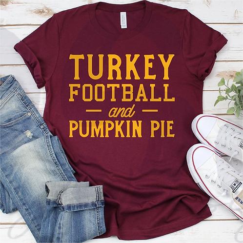Turkey, Football & Pie