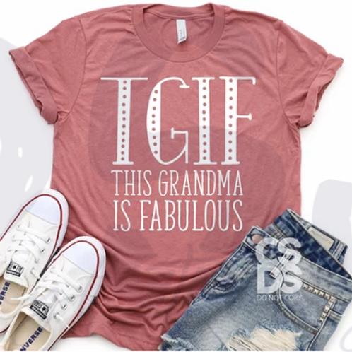 This Grandma is Fabulous
