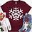 Thumbnail: Distressed Large Snowflake
