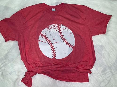 Distressed Baseball