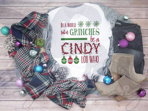Be A Cindy Lou Who