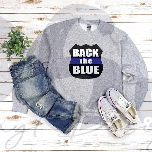 Back The Blue T-Shirt - Pre Order