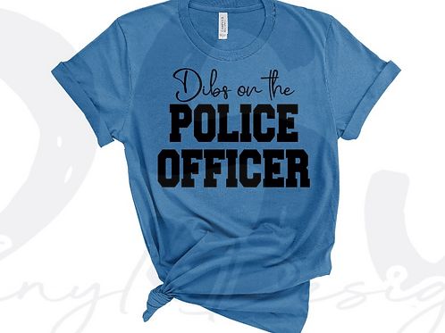 Dibs on the Police Officer