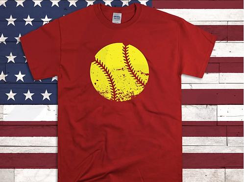 Distressed Softball