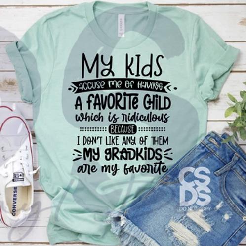 Grandkids Are My Favorite